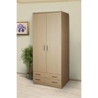 Шкаф 2-х дверный Конти с 2 ящиками 800*520