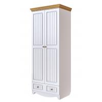 Шкаф для одежды Винтаж (белый)
