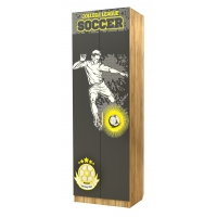Шкаф двухстворчатый Футбол Лего