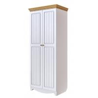 Шкаф комбинированный Винтаж (белый)