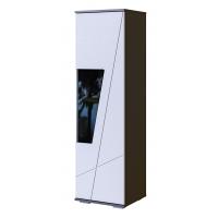 Шкаф-витрина 1500 Лея (серый графит)