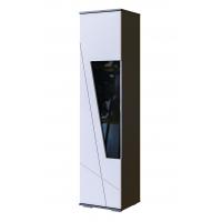 Шкаф-витрина 1800 Лея (серый графит)