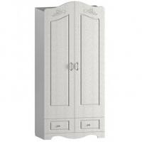 Шкаф для одежды и белья двухстворчатый Купидон 1000*570
