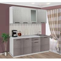 Модульный кухонный гарнитур Пластик Шотландка