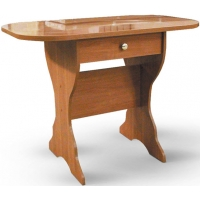 Стол обеденный с ящиком (столешница термопластик)