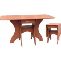Стол обеденный СКР-2 с ящиком (столешница термопластик)