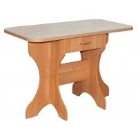 Стол  обеденный с постформингом с ящиком