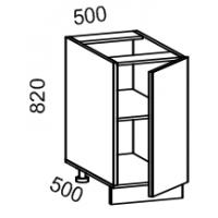 Тумба рабочая 500 (МДФ арт фиолет) Мрамор 2
