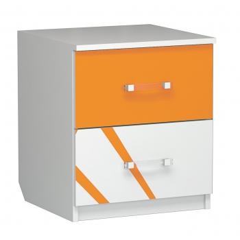 Тумба прикроватная Дельта оранж